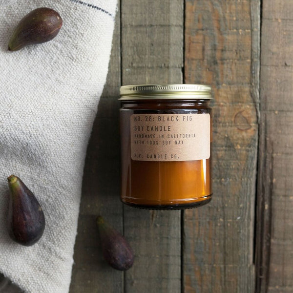 Black Fig Soy Candle by P.F. Candle Co.
