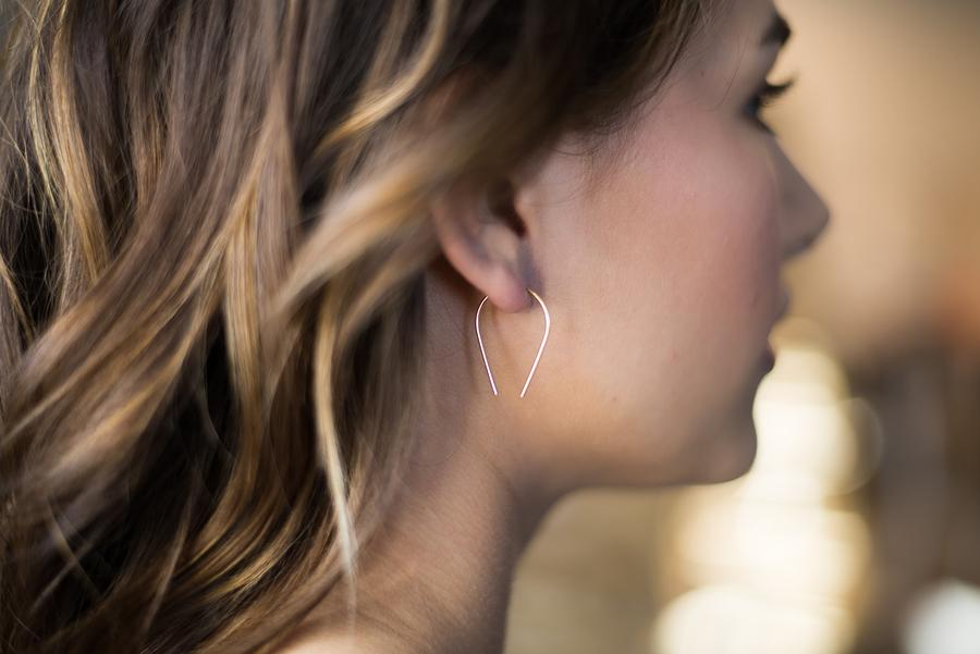 The Horseshoe Earrings by Token Jewelry