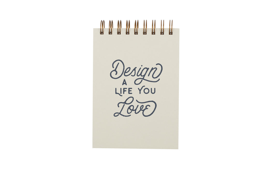 Design a Life You Love Gridded Notebook