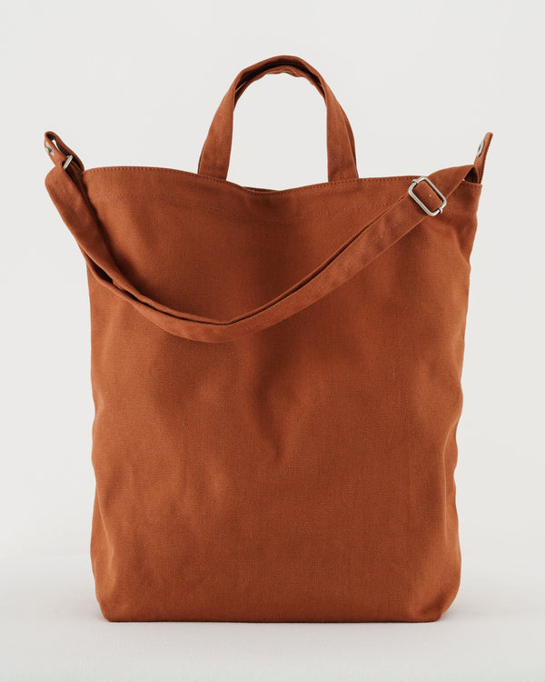 Rust Canvas Duck Bag by Baggu