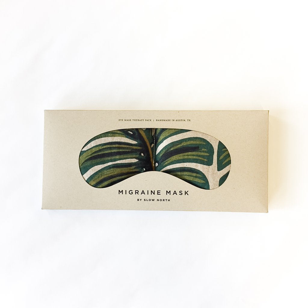 Monstera Eye Mask Therapy Pack by Slow North
