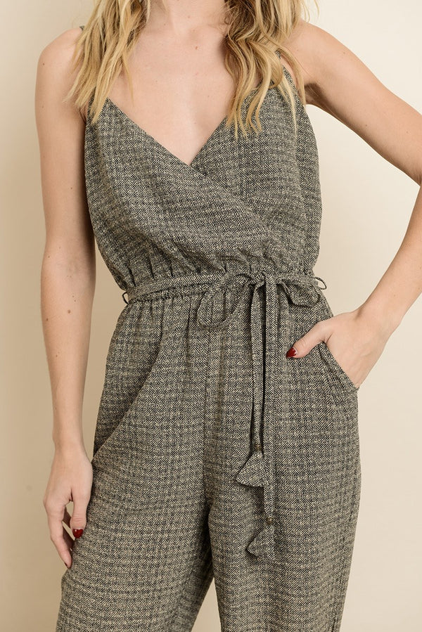 The Tania Surplice Jumpsuit