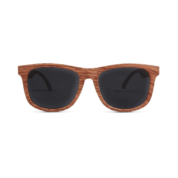 Wood Finish Polarized Baby Sunglasses (0-2 Years)