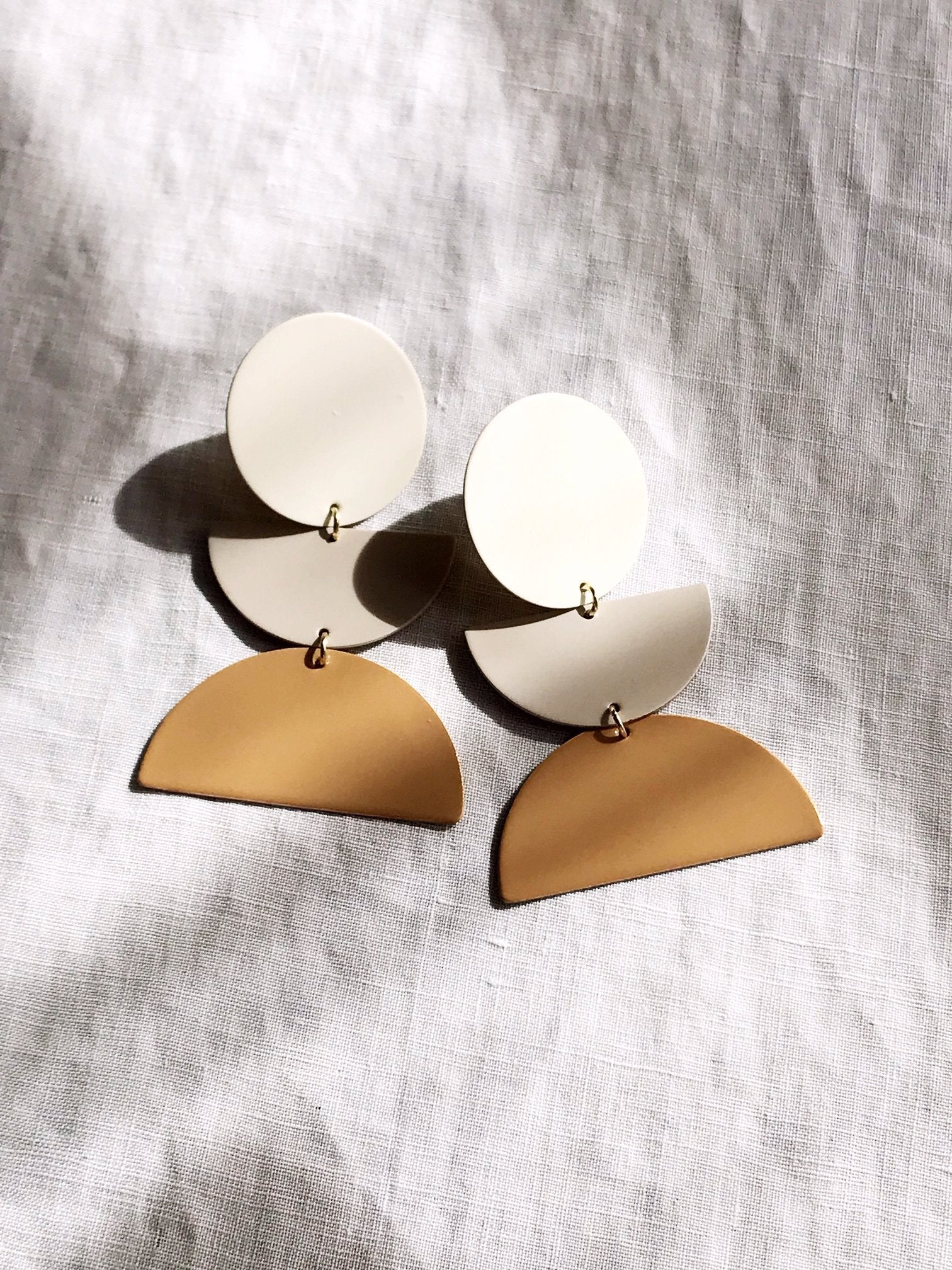 The Sunset Earrings by Pearl and Ivy Studio