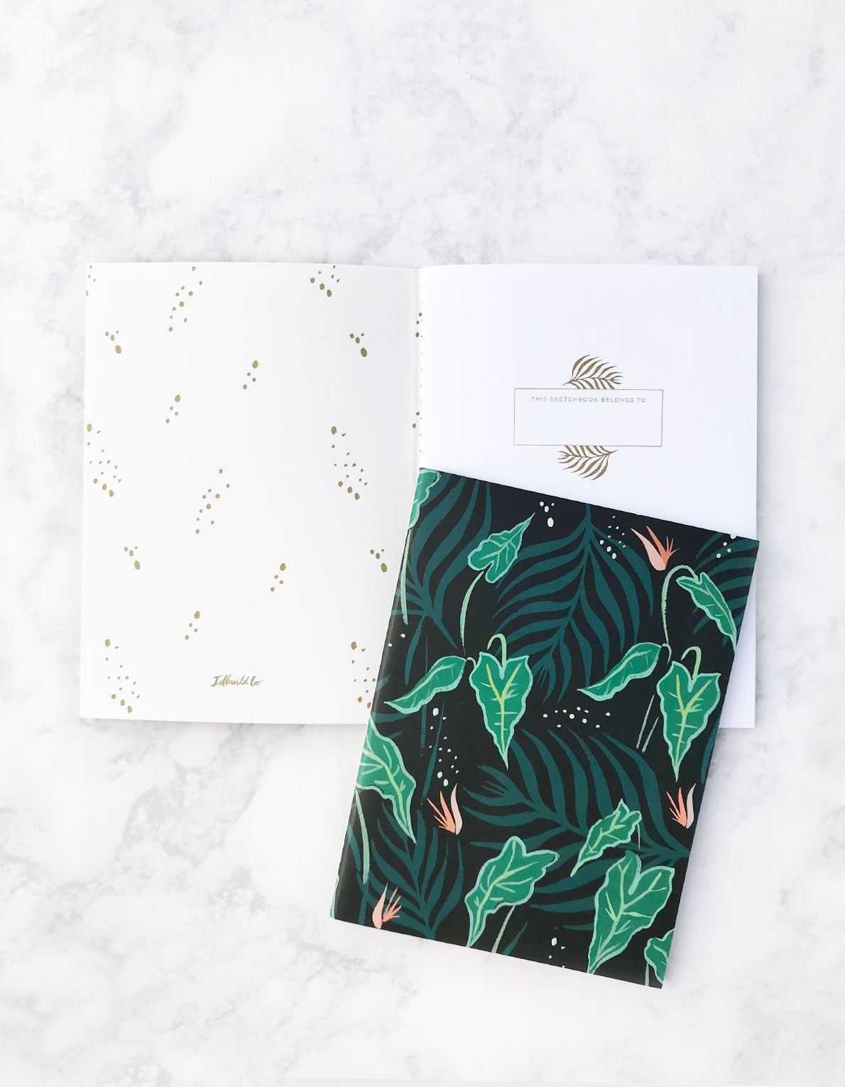 Lush Greens Pocket Book Duo by Idlewild Co by Justina Blakeney