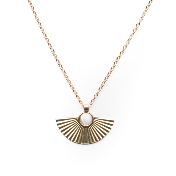 Pleat Necklace by Michelle Starbuck