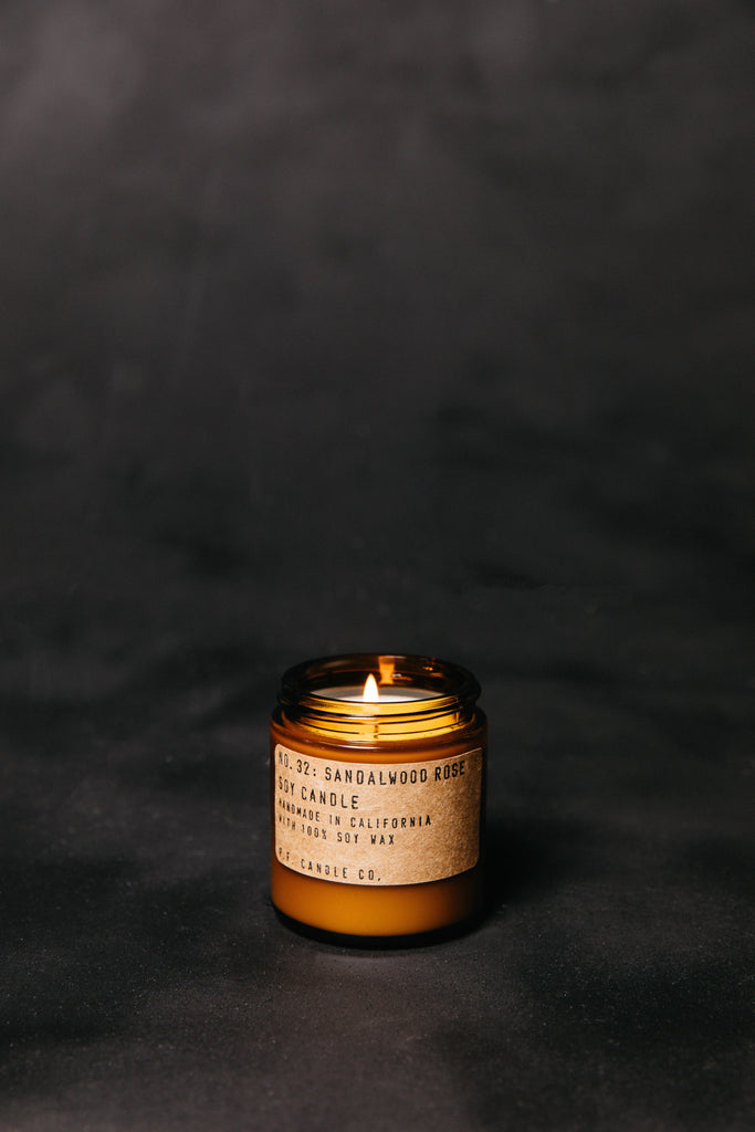 Sandalwood Rose Candle by P.F. Candle Co.