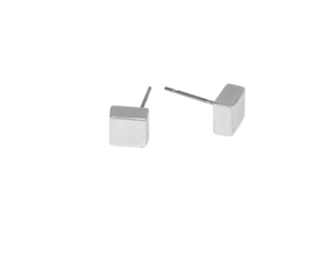 The Mica Tiny Cube Studs