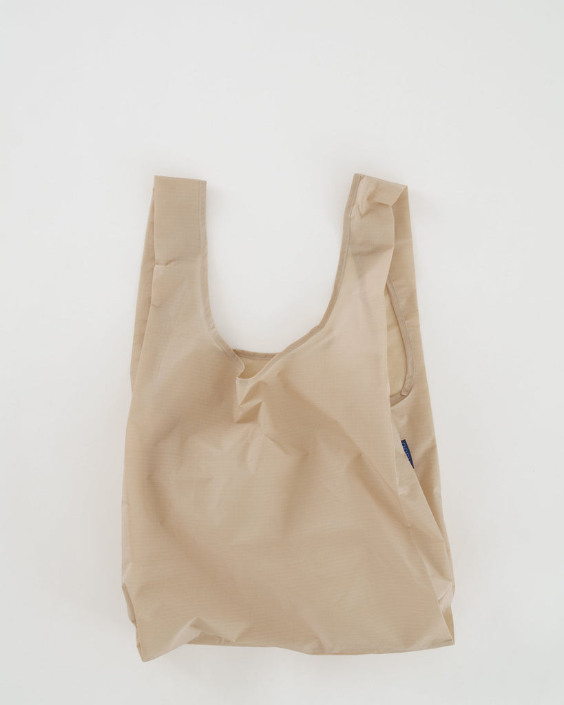 Solid Standard Size Reusable Shopping Bag by Baggu