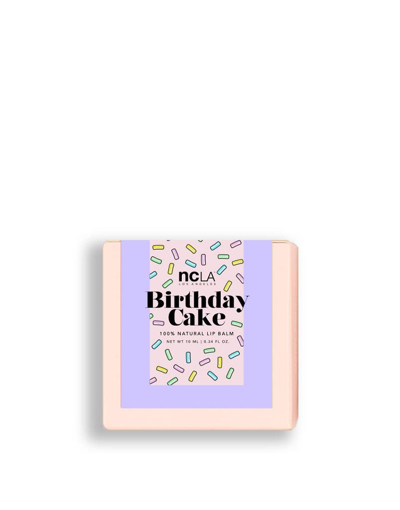 Balm Babe Birthday Cake Lip Balm by NCLA Beauty