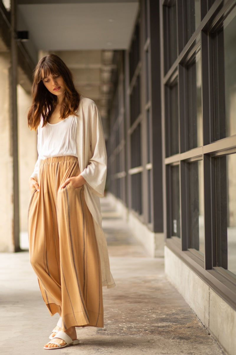The Shelly Side Slit Pants