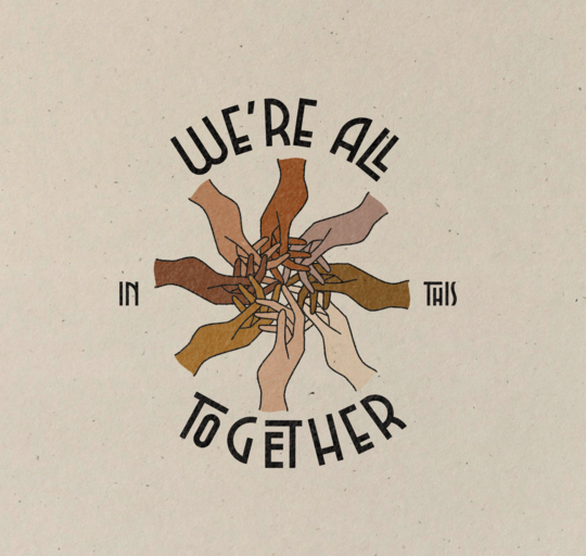 In This Together Print by ColorbloKC