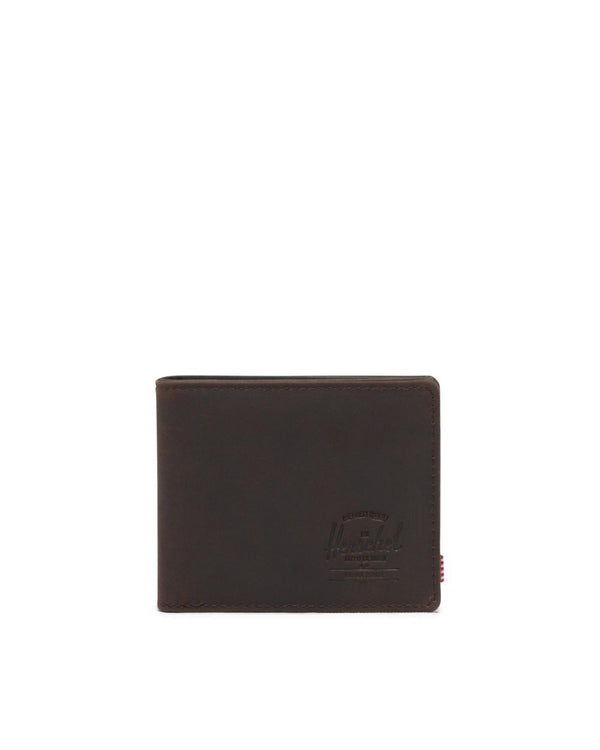 Hank Nubuck Brown Leather Wallet by Herschel Supply Co.