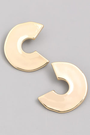 Willow Curved Post Earrings