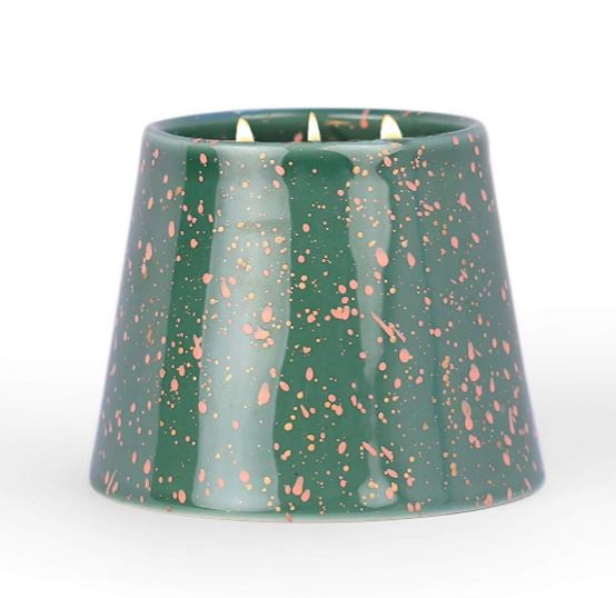 The Confetti Candle / Cypress + Suede