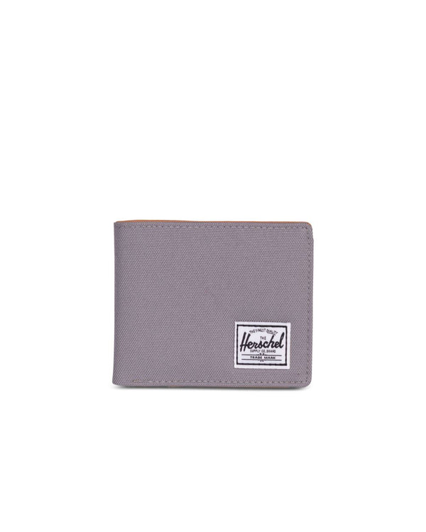 Poly Grey And Tan Hank Wallet by Herschel Supply Co.