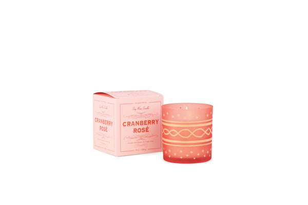 Glee Holiday Candle / Cranberry Rosé
