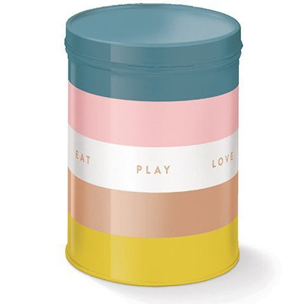 Eat Play Love Treat Tin