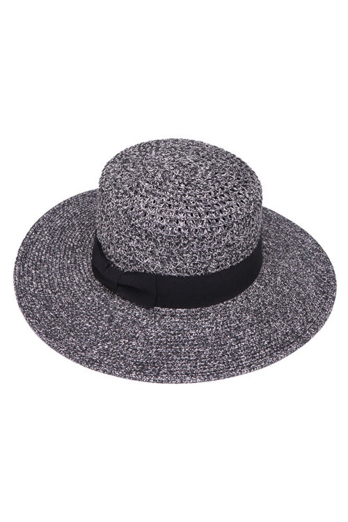 The Eve Straw Boater Hat