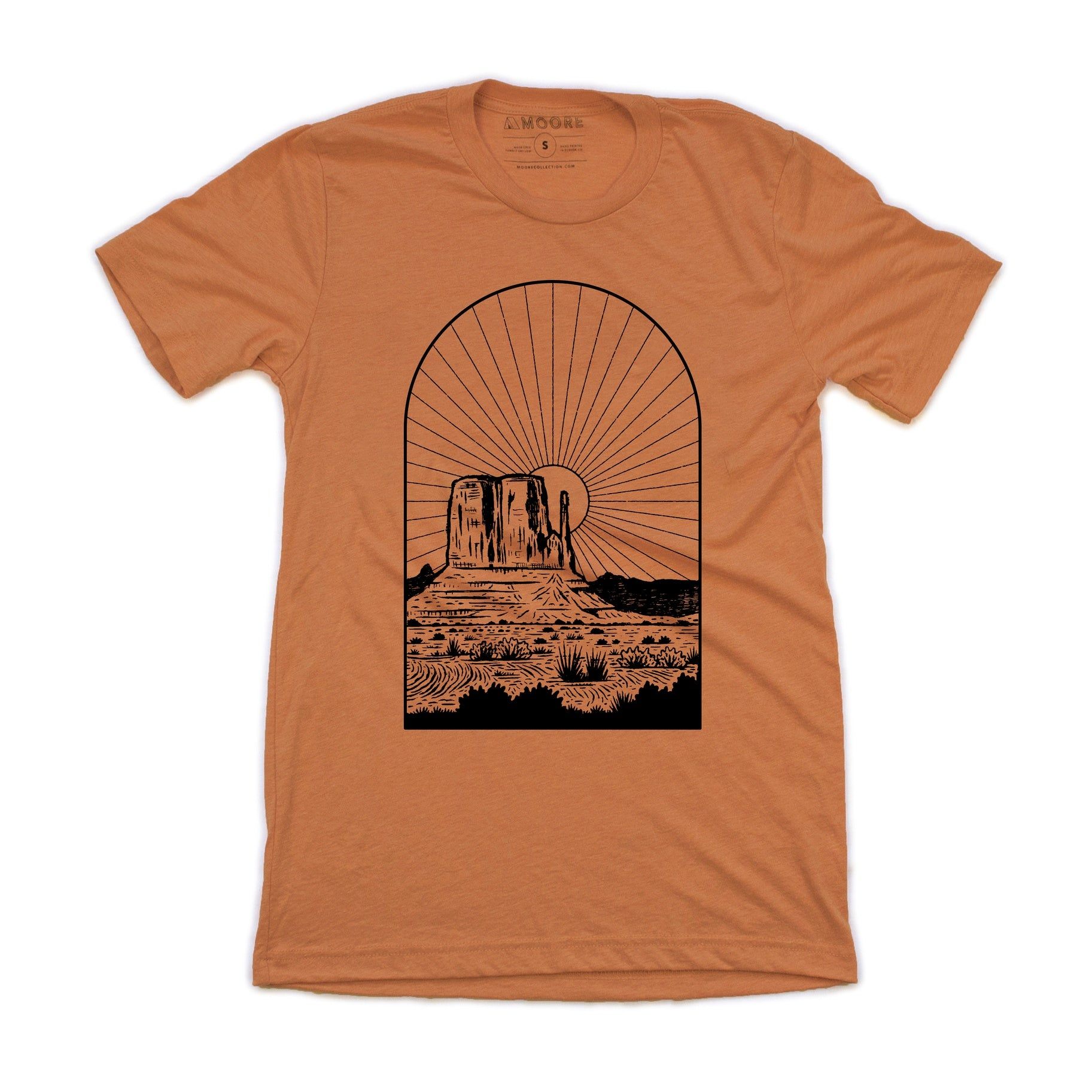 Monument Sunset Tee by Moore Collection