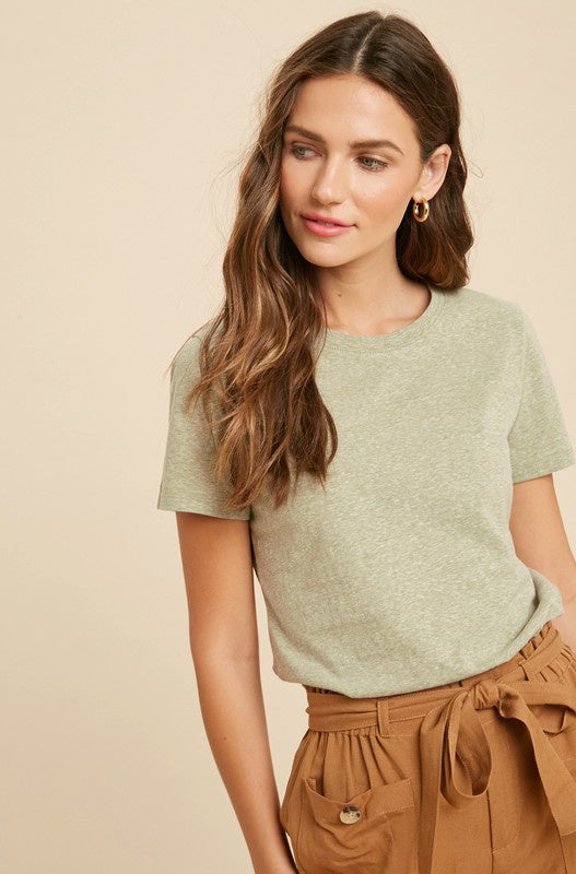 The Jory Heather Knit Top