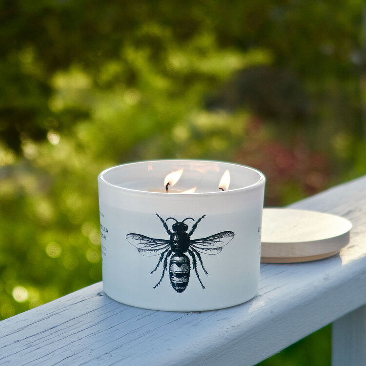 Citronella Blossom Candle by Skeem Design