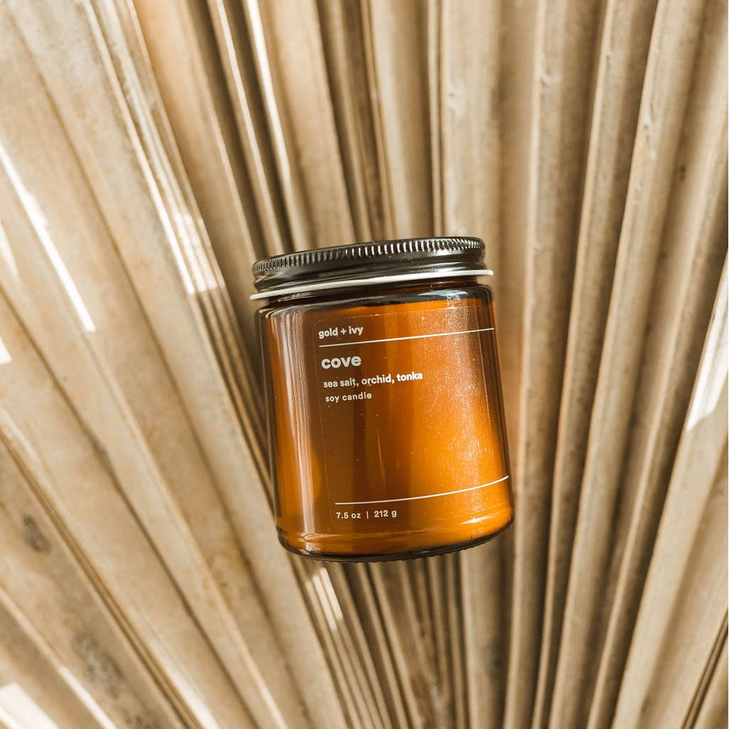 Cove Candle by Gold + Ivy