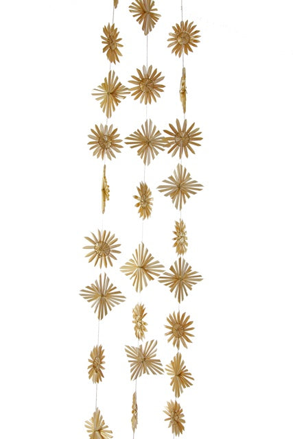 Straw Star Garland