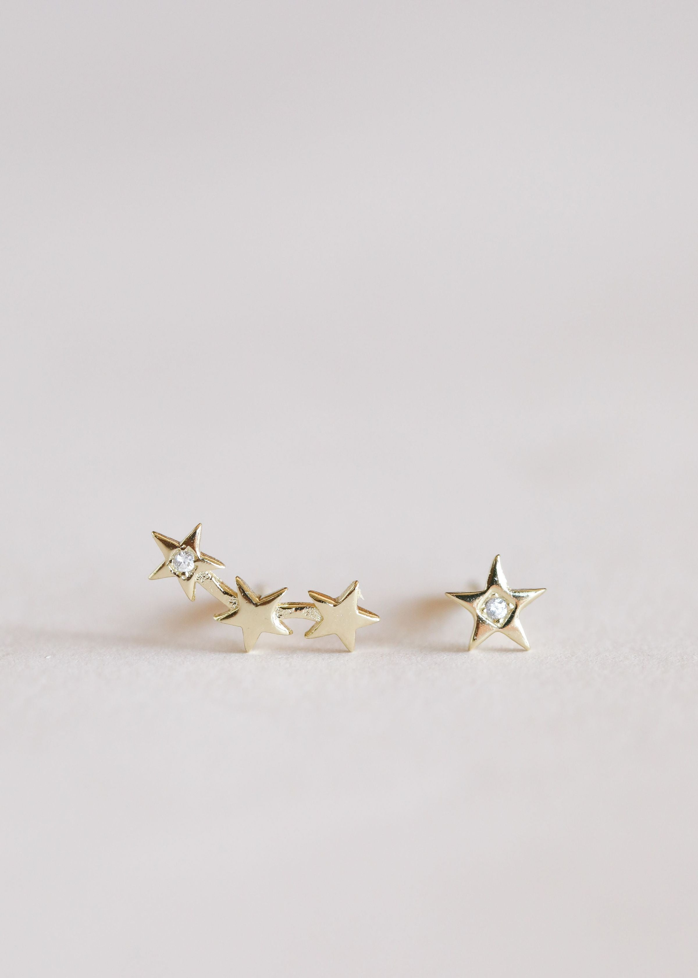 Star Constellations Complement Earrings by JaxKelly