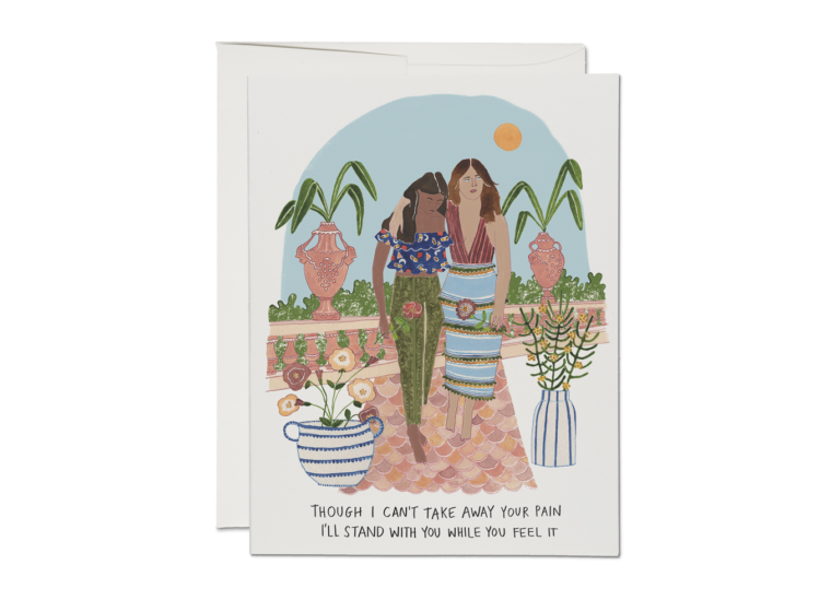 Stand With You Card by Red Cap Cards