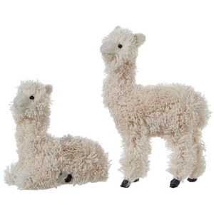 Fluffy Llama Ornaments - Sold Separately