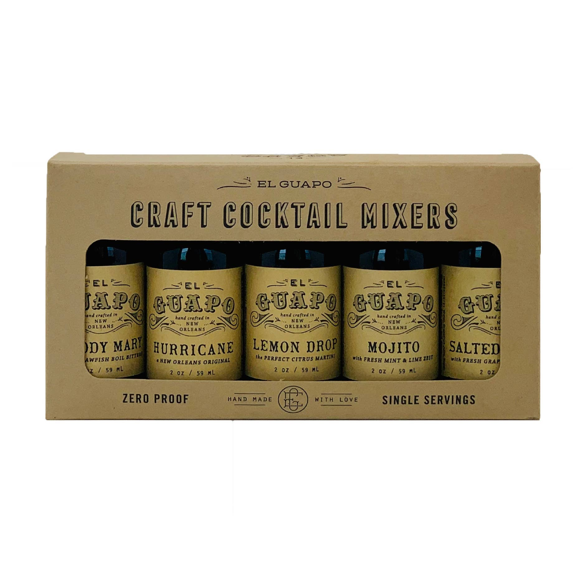Craft Cocktail Gift Set by El Guapo