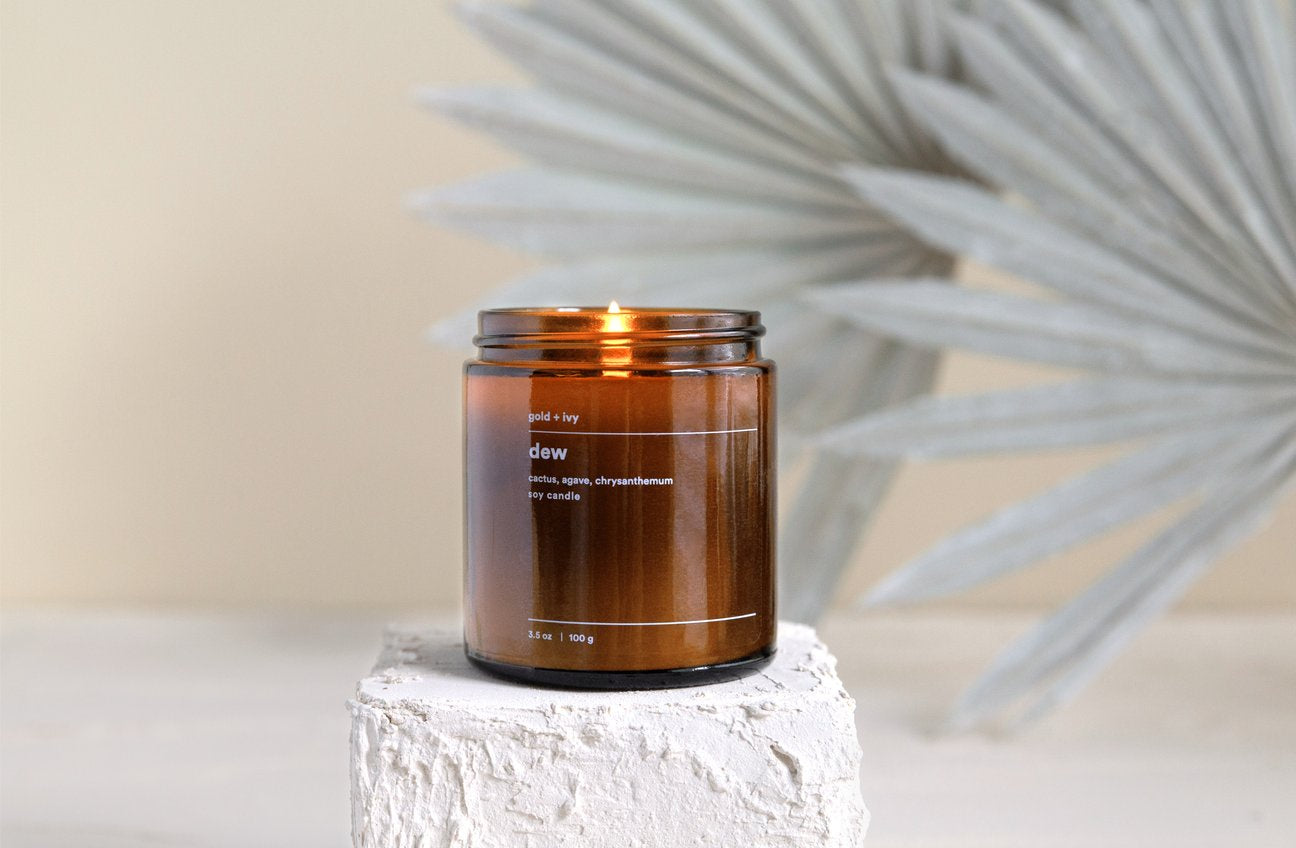 Dew Candle by Gold + Ivy