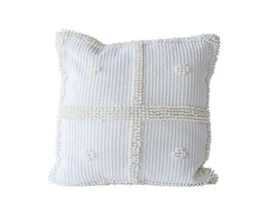 Knotted Chenille Pillow