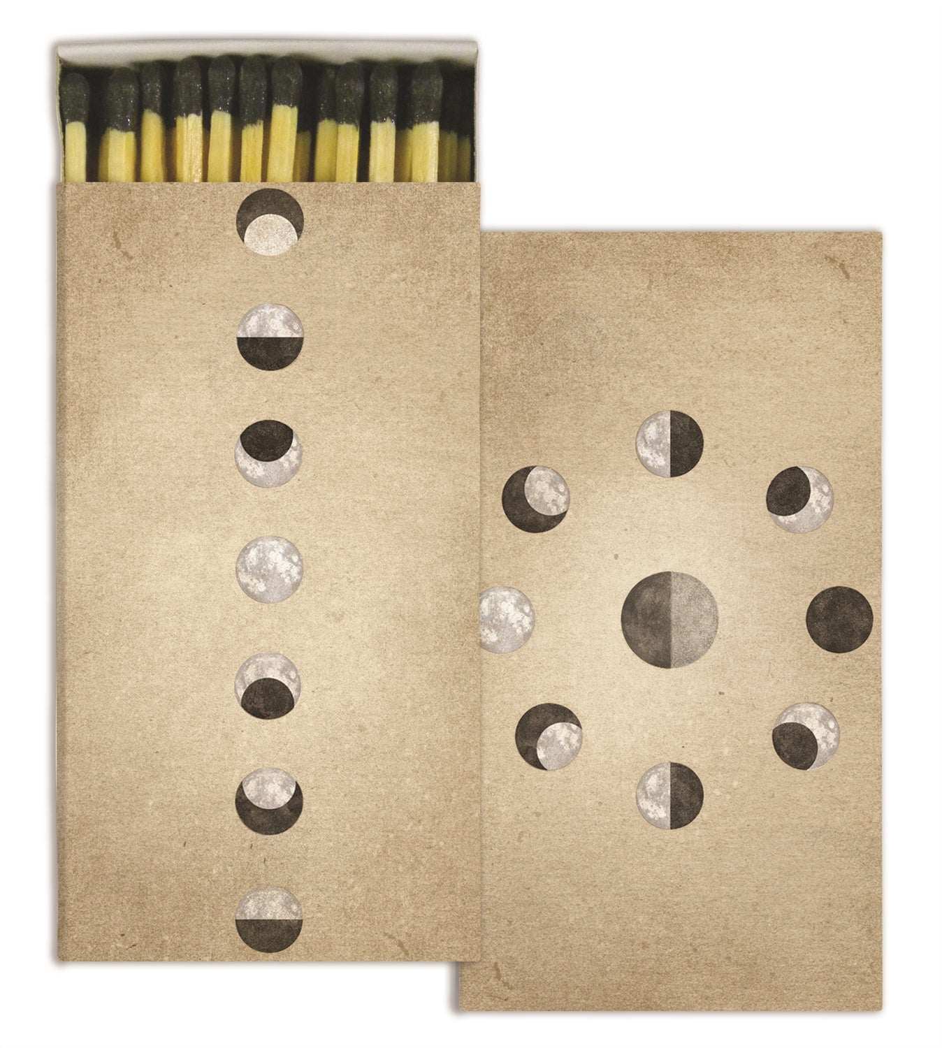 Moon Phases Match Box