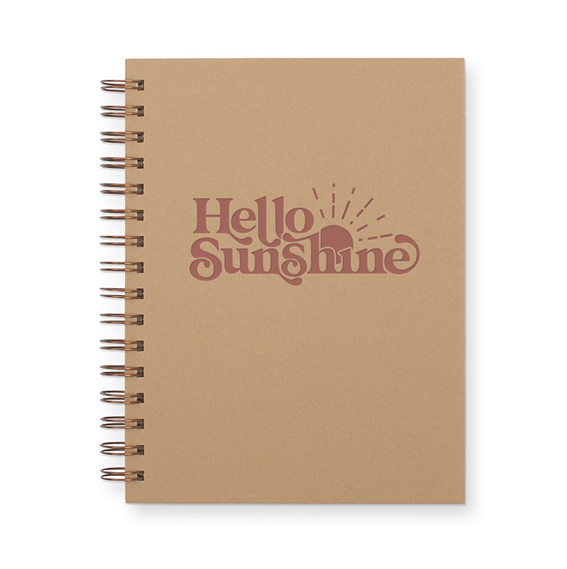 Hello Sunshine Journal by Ruff House Art