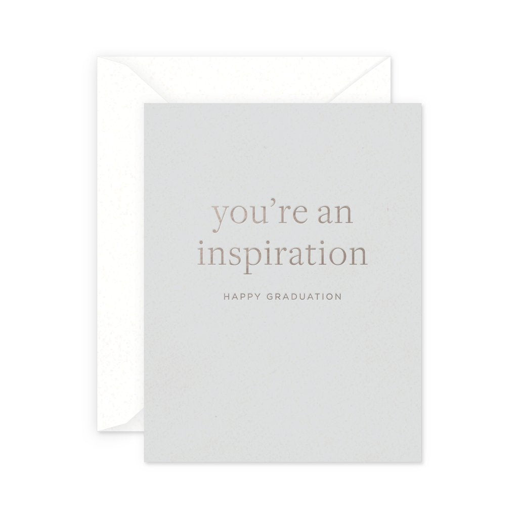 Inspiration Graduation Card by Smitten on Paper
