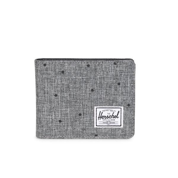 Hank Scattered Raven / Crosshatch Wallet by Herschel Supply Co.