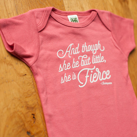 Little and Fierce Onesie