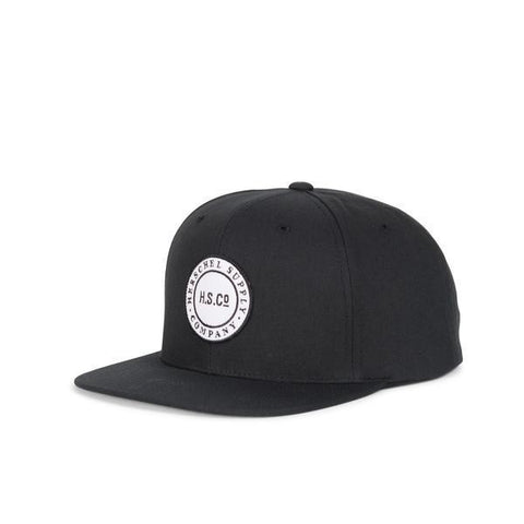 Cam Cotton Black Hat by Herschel Supply Co.