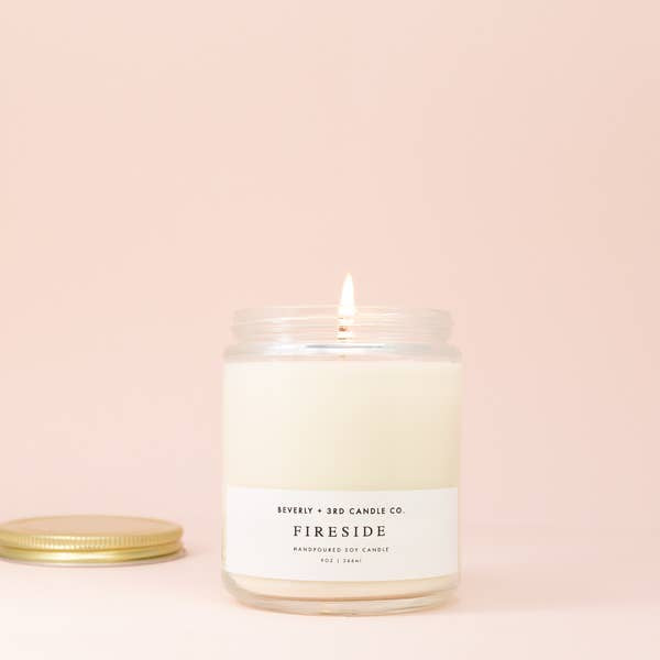Fireside Candle by Beverly + 3rd