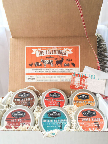 Grillmaster Gift Set - The Adventurer