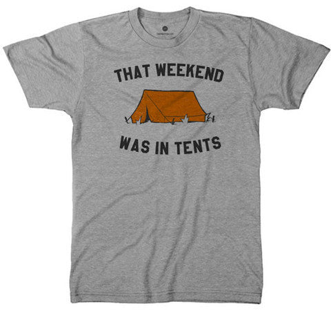 Men's In Tents Weekend Tee