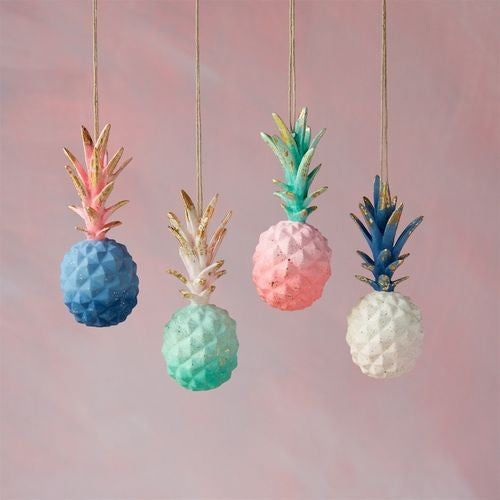 Cute Colorful Pineapple Ornament