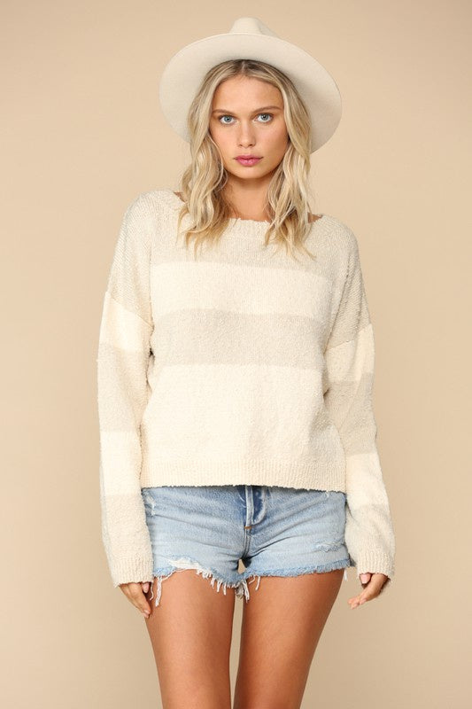 The Meghie Boat Neck Sweater
