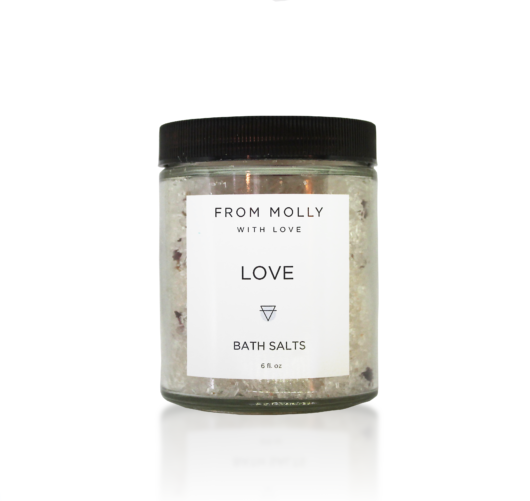 Love Bath Salts by From Molly with Love