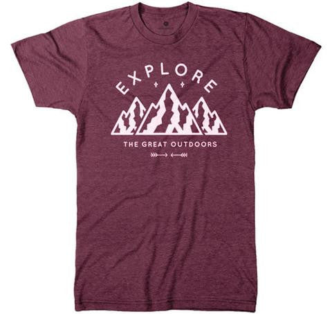 Explore the Great Outdoors Tri Blend Tee