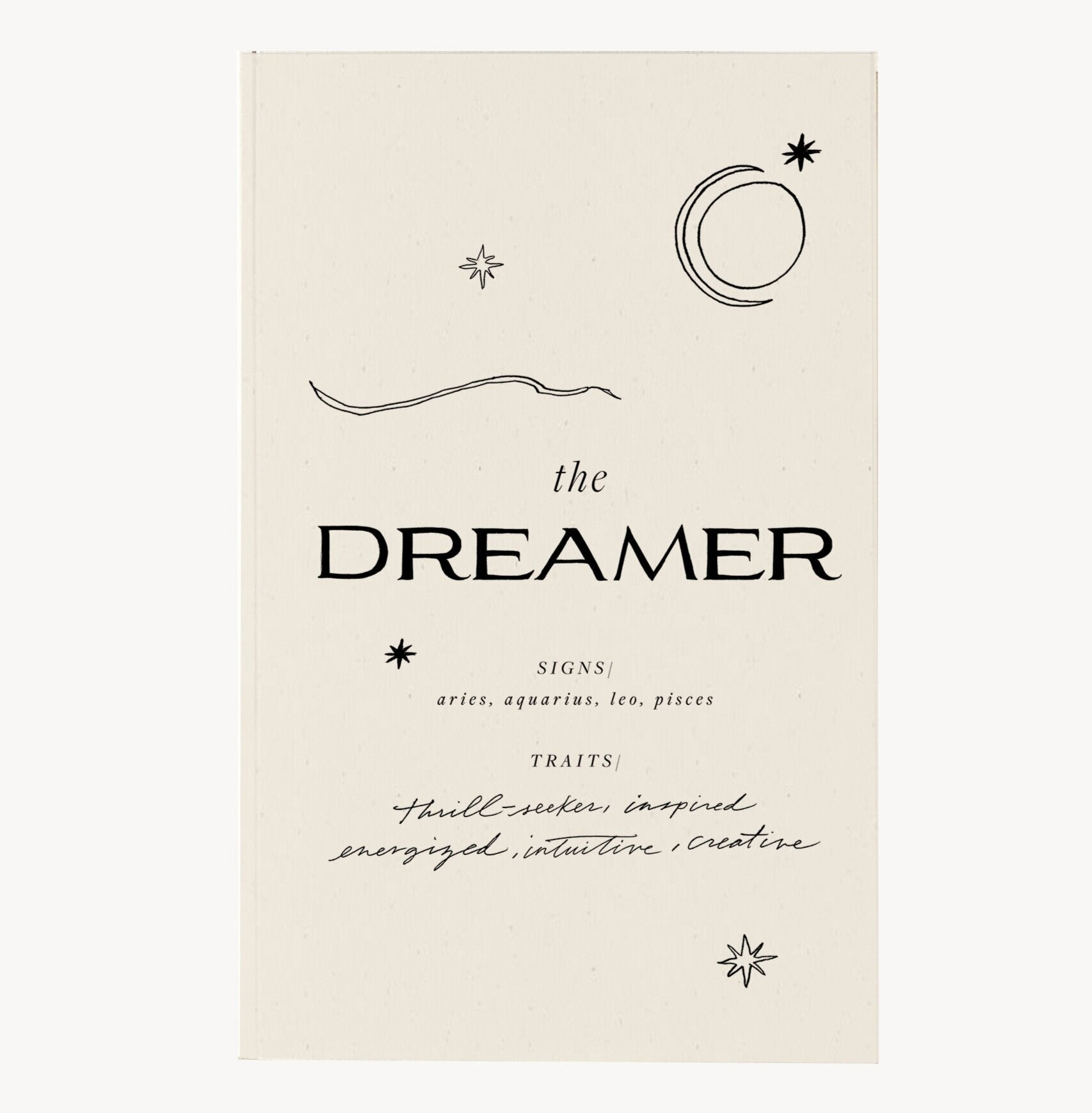 The Dreamer Journal by Wilde House Paper