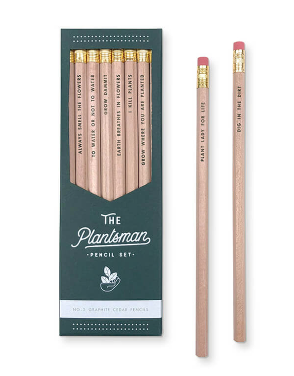 The Plantsman Pencil Set by Ruff House Art