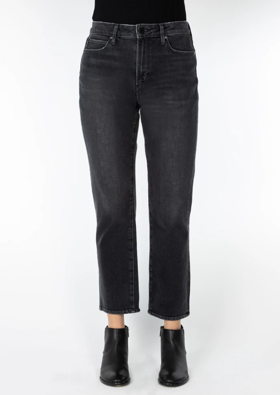 The Kate Cropped Straight Leg Jeans by Articles of Society - Gillett